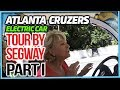RV Living On The Road Full Time Atlanta Cruzers Electric Car Tour By Segway Part I
