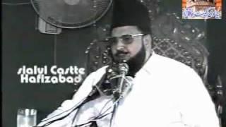 syed shabbir hussain shah hafizabadi waqia miraj sharif part #1