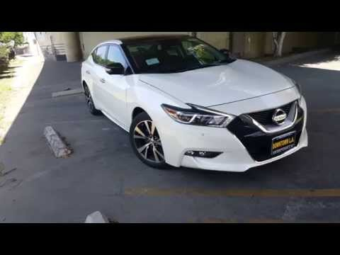 2016 Nissan Maxima Platinum Features Highlight