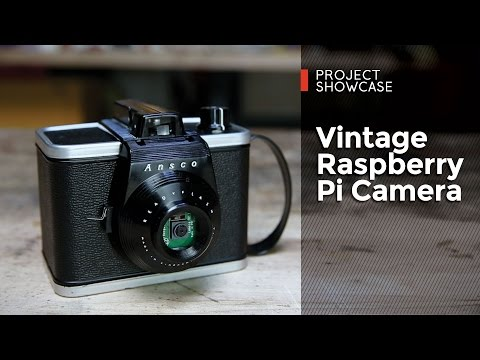 Vintage Raspberry Pi Camera from SparkFun!