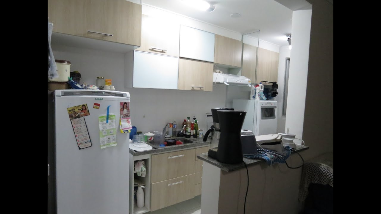 Tour pela cozinha do apartamento  YouTube