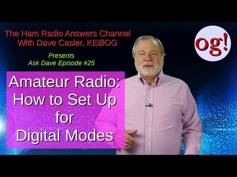 Setting up for Digital Modes, AD#25