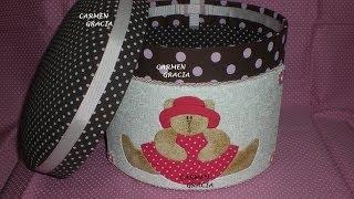 Patchwork Embutido no EVA -Carmen Gracia