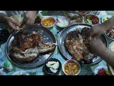 "Iraq's signature dish ""masgoof"" back on the tables"