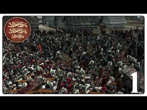 KING OF ENGLAND - 1078 Medieval Wars Campaign (Attila) #1