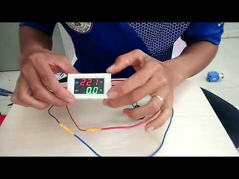 Test Đồng Hồ Đo Điện Áp Vônl Và Dòng Điện Ampe Công Suất 60 - 300V - 100A