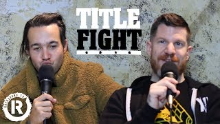 How Many Fall Out Boy Songs Can Pete Wentz & Andy Hurley Name In 1 Minute? - Title Fight