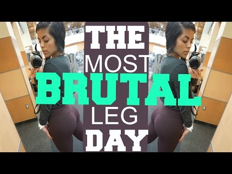 THE MOST BRUTAL LEG DAY EVER