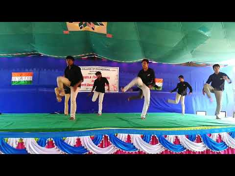 THEME BALLET || REPUBLIC DAY 2K18 ||VASAVI COLLEGE OF ENGINEERING