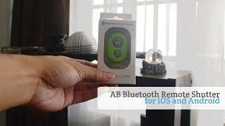 АБ Bluetooth пульт дистанційного спуску затвора для Android і iOS