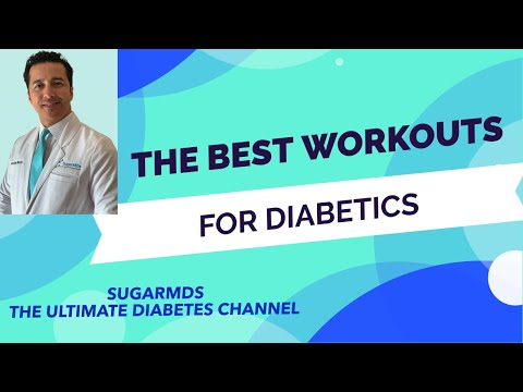 Exercises for Diabetics! Workouts for diabetics both for type 1 & type 2 Diabetes!