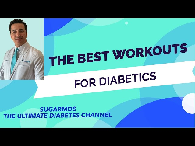 Workouts for Diabetics! Doctor Demonstrates!