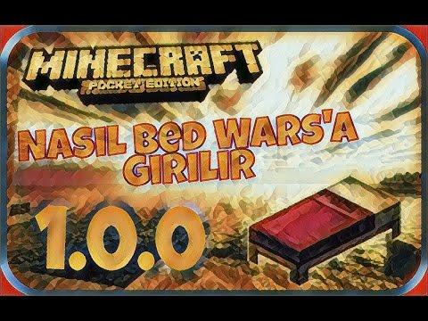 Minecraft Pe 1.0.0 Bed Wars'a Nasıl Girilir???