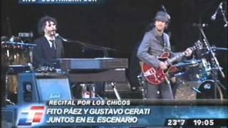 Fito Paez y Gustavo Cerati - Crimen - Concierto Alas 2008