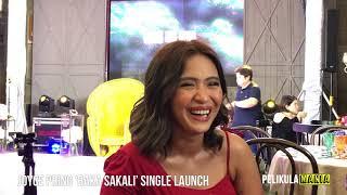 Joyce Pring Answers the Real Score with Juancho Trivino, Shares Details on Single 'Baka Sakali'