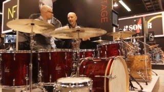 Sonor Drums Featurette @ NAMM 2016