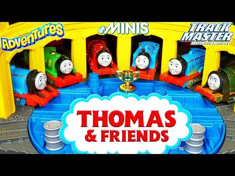 New Huge Thomas and Friends Super Station Tidmouth Sheds Steamworks Diesel Works Trackmaster Minis