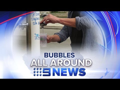 Free Sparking Water Drinking Fountains | Nine News Australia