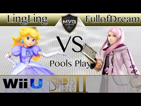 UG|LingLing (Peach) vs. Nexus FullofDream (Robin) - Pools Play - Shots Fired 2