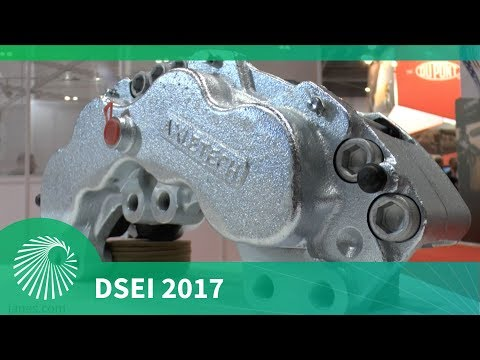 DSEI 2017: AxleTech and Alcon's brake partnership