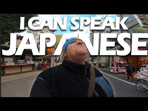 White Guy Speaks Fluent Japanese to Old People