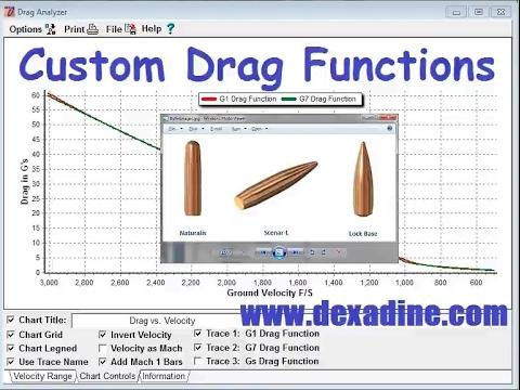 Custom Drag Functions