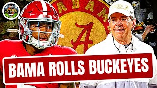 Alabama Destroys Ohio State - Rapid Reaction (Late Kick Cut)
