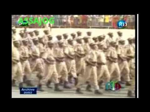 Djibouti: Souvenir le défilé militaire 2002