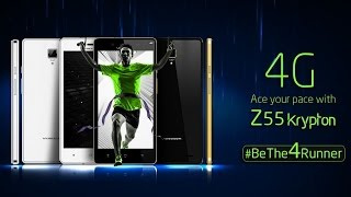 videocon z55 krypton 4g launched   price specification