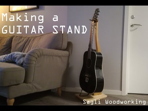 Making a GUITAR STAND!