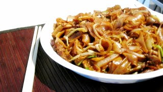 How to make Stir-fried rice noodle with beef