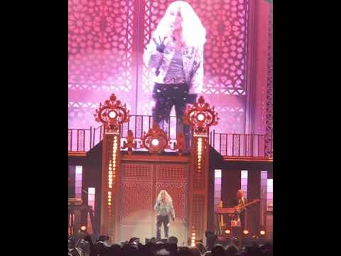 Cher  SOS Fragment at the Here We Go Again Tour FIRST SHOW