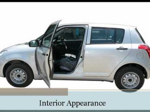 Maruti swift model specification exterior interior for Swift vxi o interior