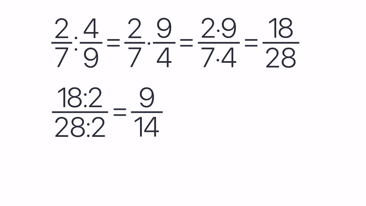 6. at dividere to brøker med hinanden