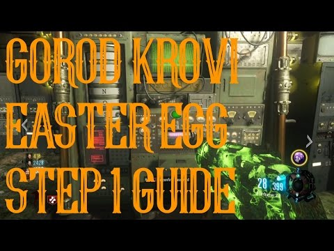 GOROD KROVI EASTER EGG STEP 1 GUIDE | VALVE EXPLANATION | MASTER CODE CYLINDER | SOPHIA PASSWORD