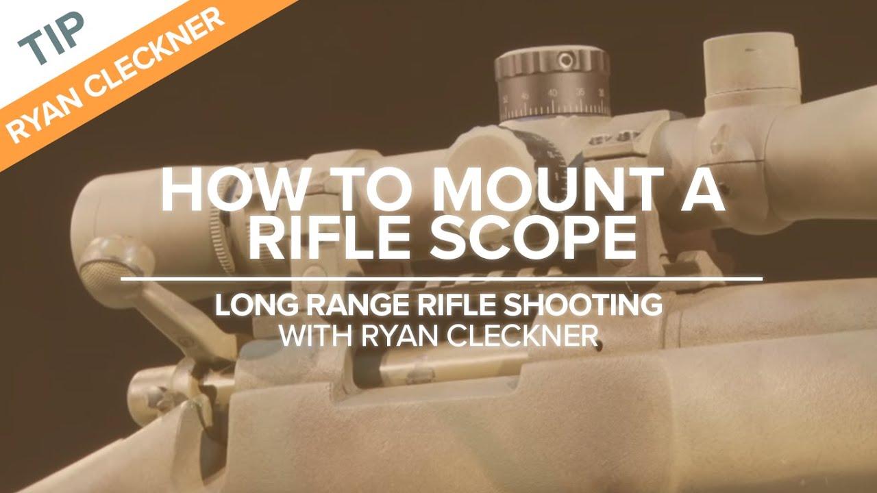 Set Up Your Scope For Success  Longrange Rifle Shooting Technique   Youtube
