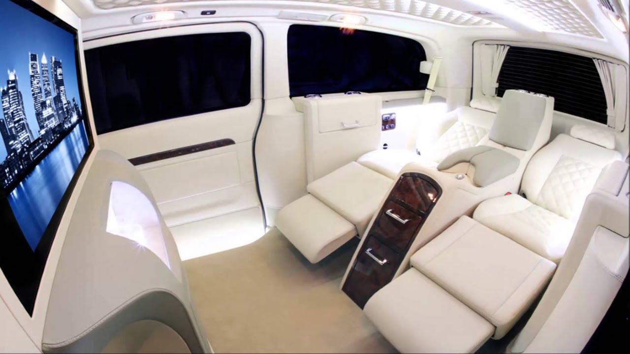 Mercedes Van Conversions Carisma Viano V1 Youtube