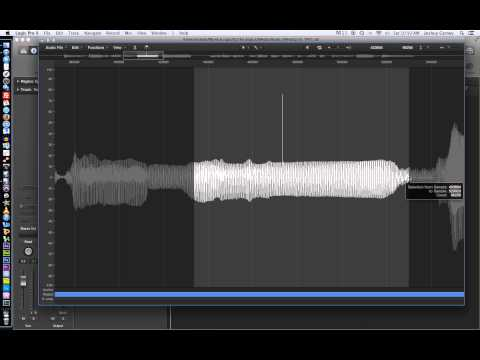 Logic Pro X - Video Tutorial 16 - Editing Audio in the File
