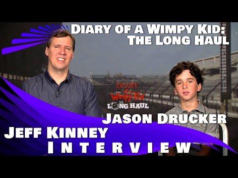 DIARY OF A WIMPY KID:THE LONG HAUL - Jeff Kinney & Jason Drucker Interview