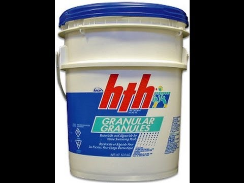 Can I Shock My Swimming Pool With Granular Chlorine Calcium Hypochlorite Youtube
