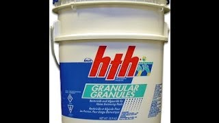Can I Shock My Swimming Pool With Granular Chlorine/Calcium Hypochlorite