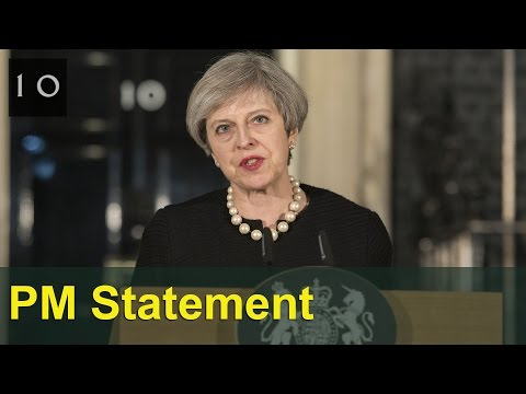 Prime Minister's statement after the attack in Westminster