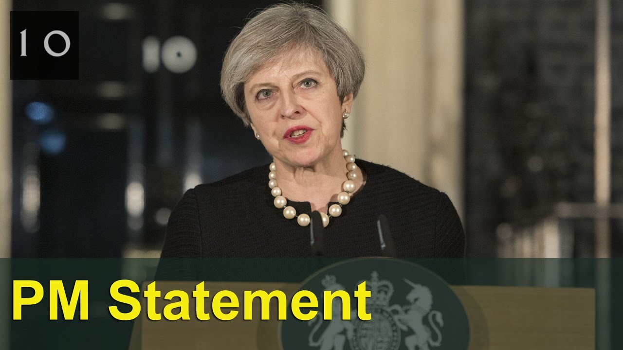 Uk muslims press for peace at 10 downing street - Prime Minister S Statement After The Attack In Westminster 10 Downing Street