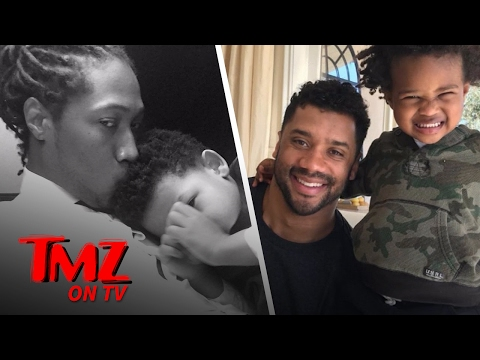 Russell Wilson Takes To Social Media To Let Everyone Know He Loves His Stepson | TMZ TV