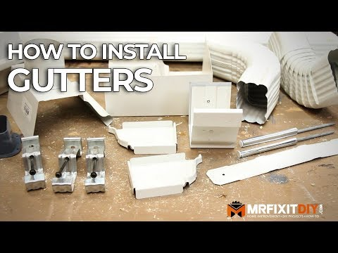 HOW TO INSTALL GUTTERS - A DIY GUIDE