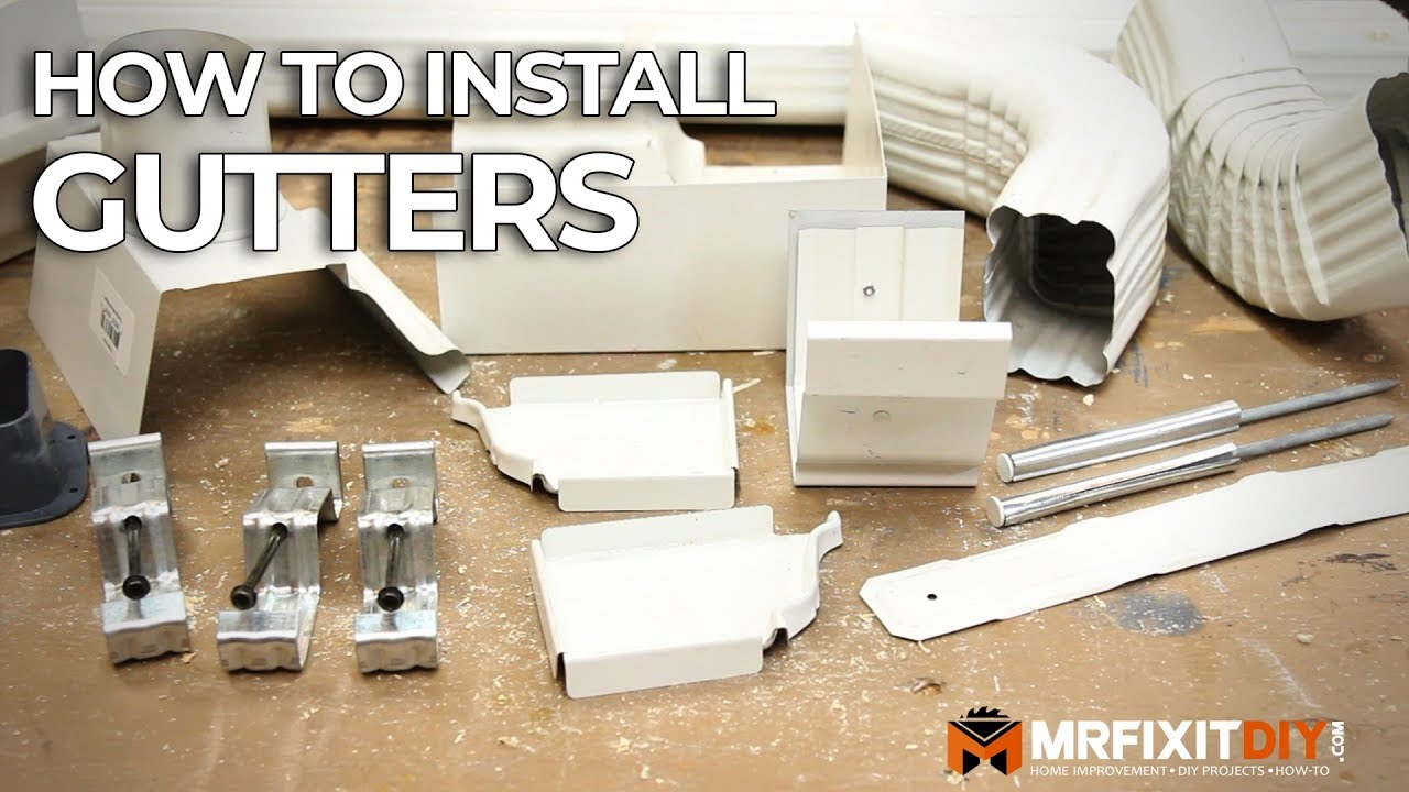 How To Install Gutters A Diy Guide Youtube