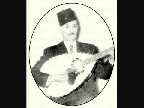 Le chanteur Algérien Mohamed Marocain  ( Rachda )  1