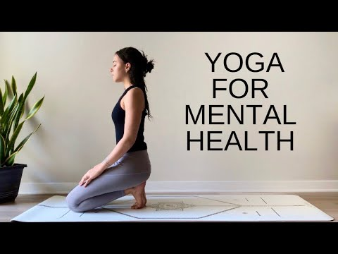 30 Minute Relaxing Yoga For Mental Health | All Levels - Slow Seated Flow