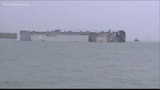 Pilot of capsized Golden Ray cargo ship praised for actions