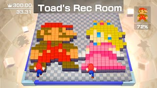 Super Mario Party - Toad's Rec Room: Character Mario (Stage 01 to 10)